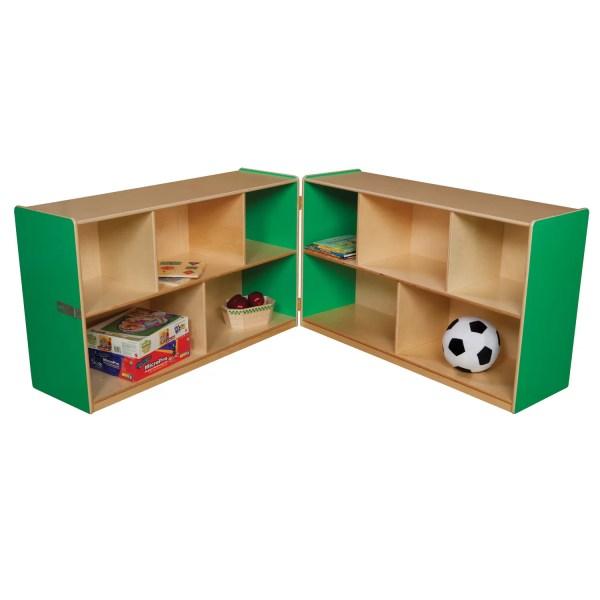 Wood Design Folding Storage Unit