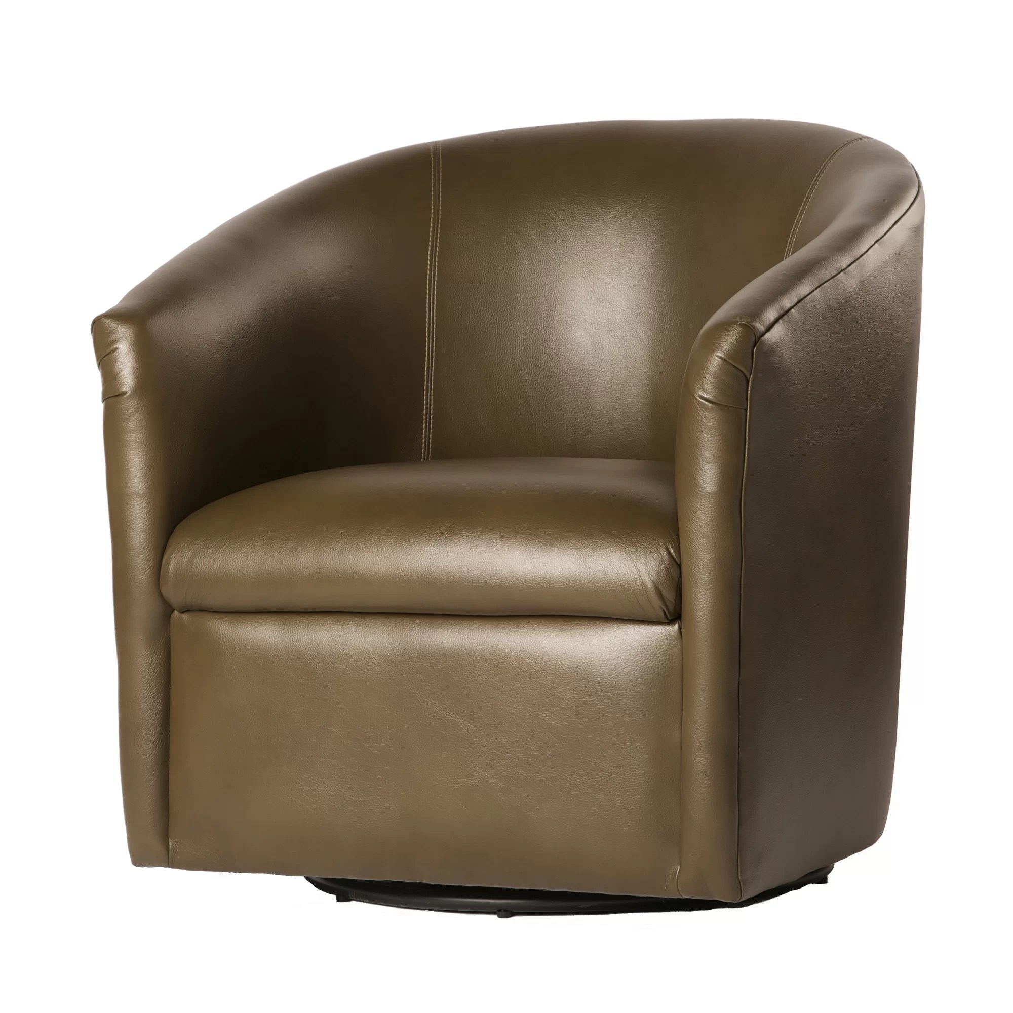 Barrel Chair Swivel Comfort Pointe Draper Swivel Barrel Chair Ebay