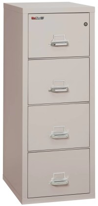 FireKing Fireproof 4-Drawer Vertical File Cabinet | eBay