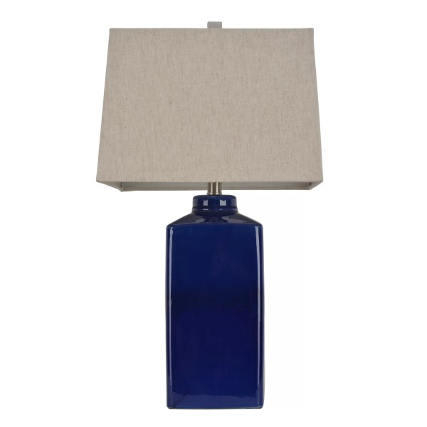 """Hunt Home 26.5"""" Table Lamp With Rectangular Shade"""