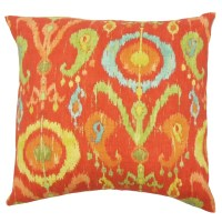 The Pillow Collection Ikea Ikat Cotton Throw Pillow Cover ...