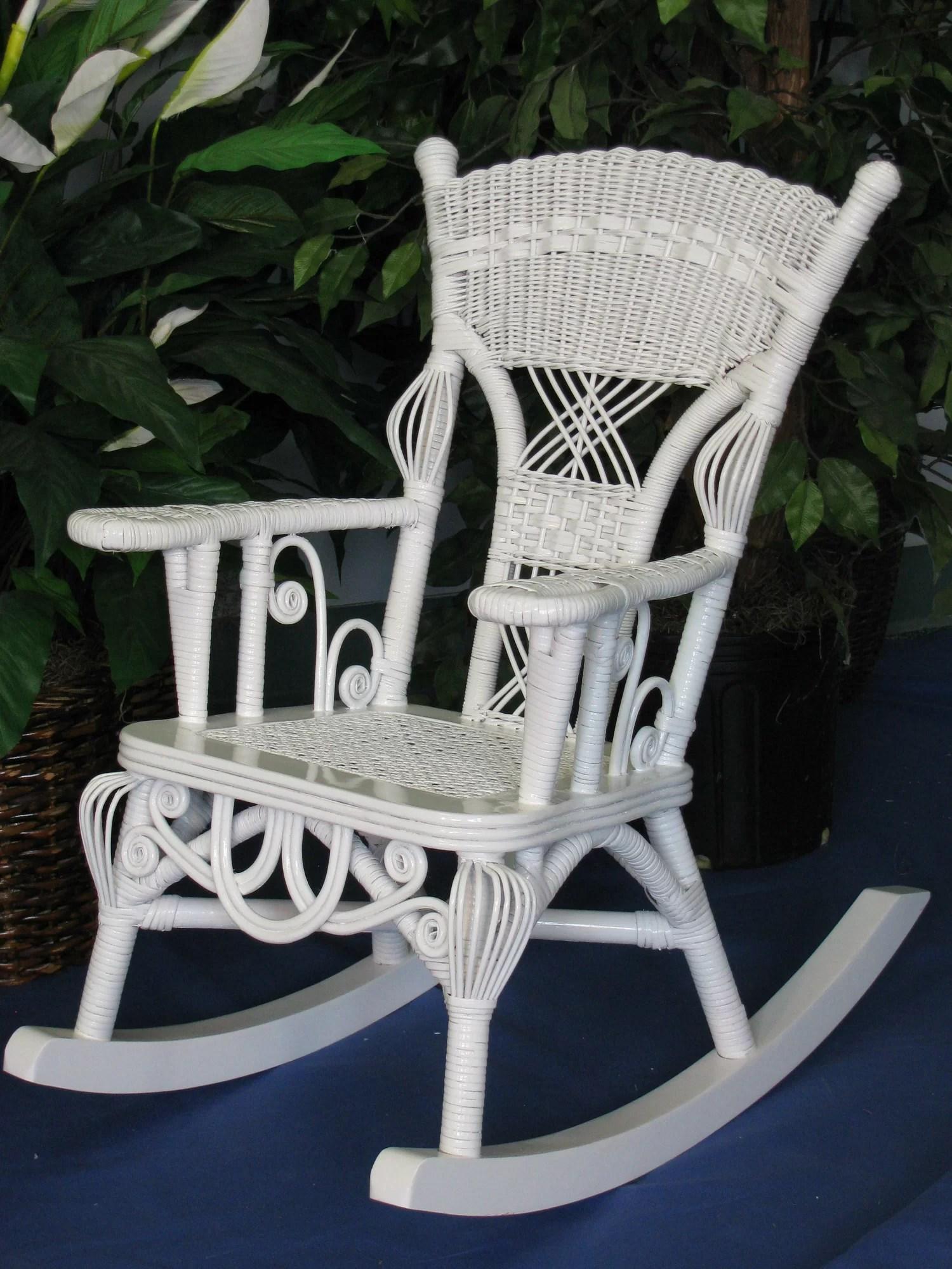 wicker rocking chair yugoslavia folding yesteryear victorian child 39s millie