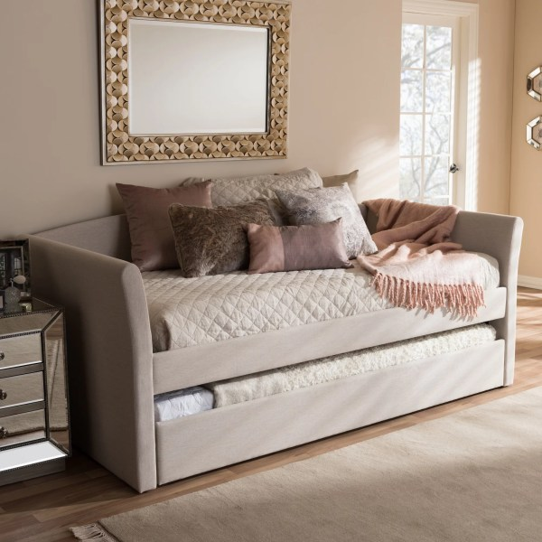 Interiors Baxton Studio Serena Daybed With