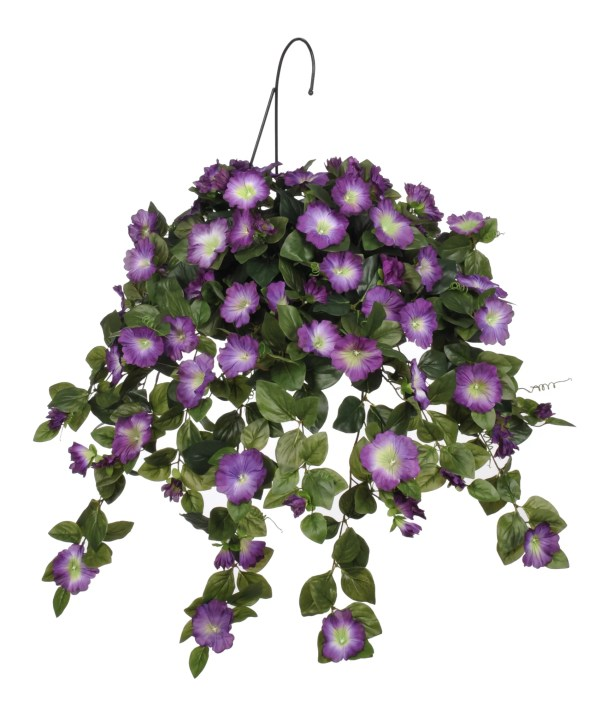 House Of Silk Flowers . Artificial Petunia Hanging