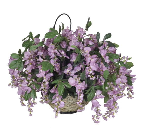 House Of Silk Flowers . Artificial Wisteria Hanging