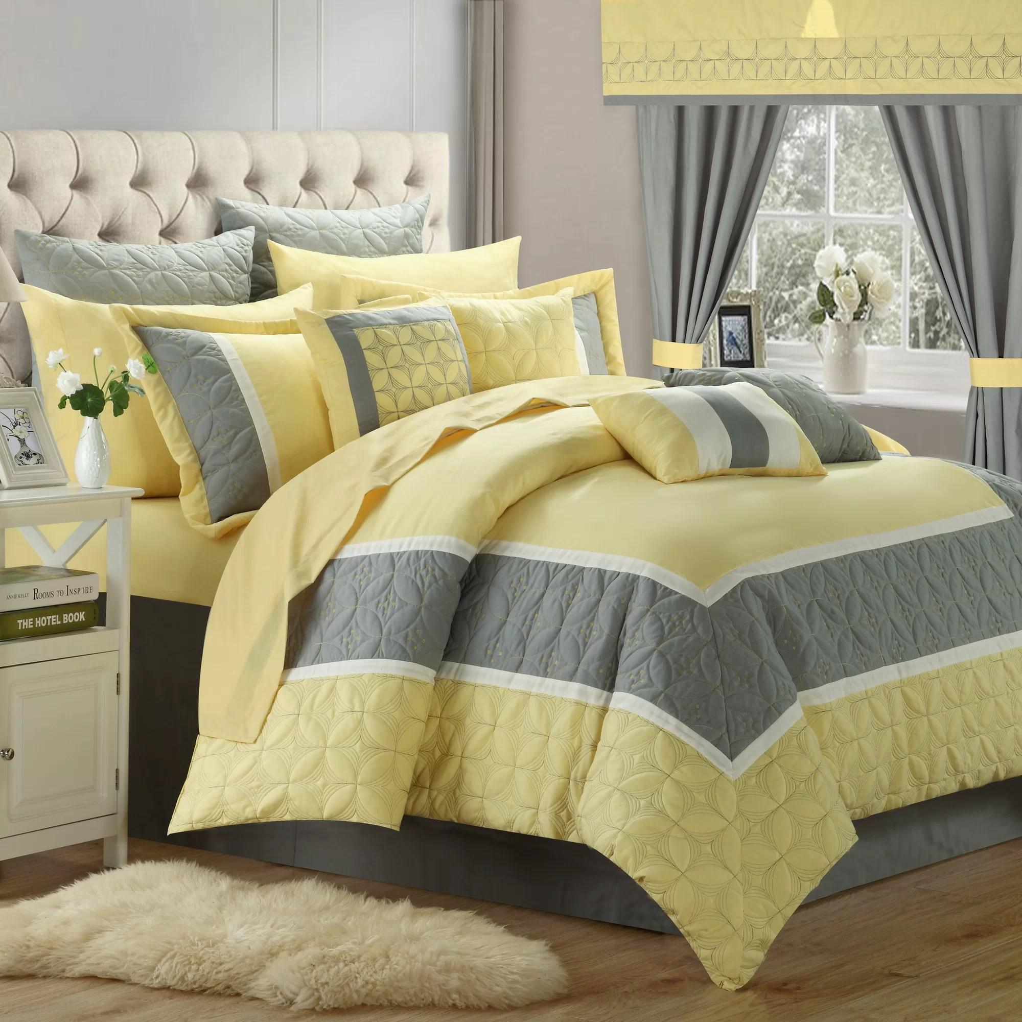 Chic Home Aida 24 Piece Queen Comforter Set