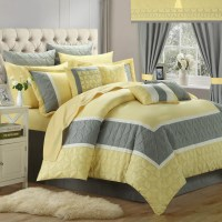 Chic Home Aida 24 Piece Queen Comforter Set | eBay