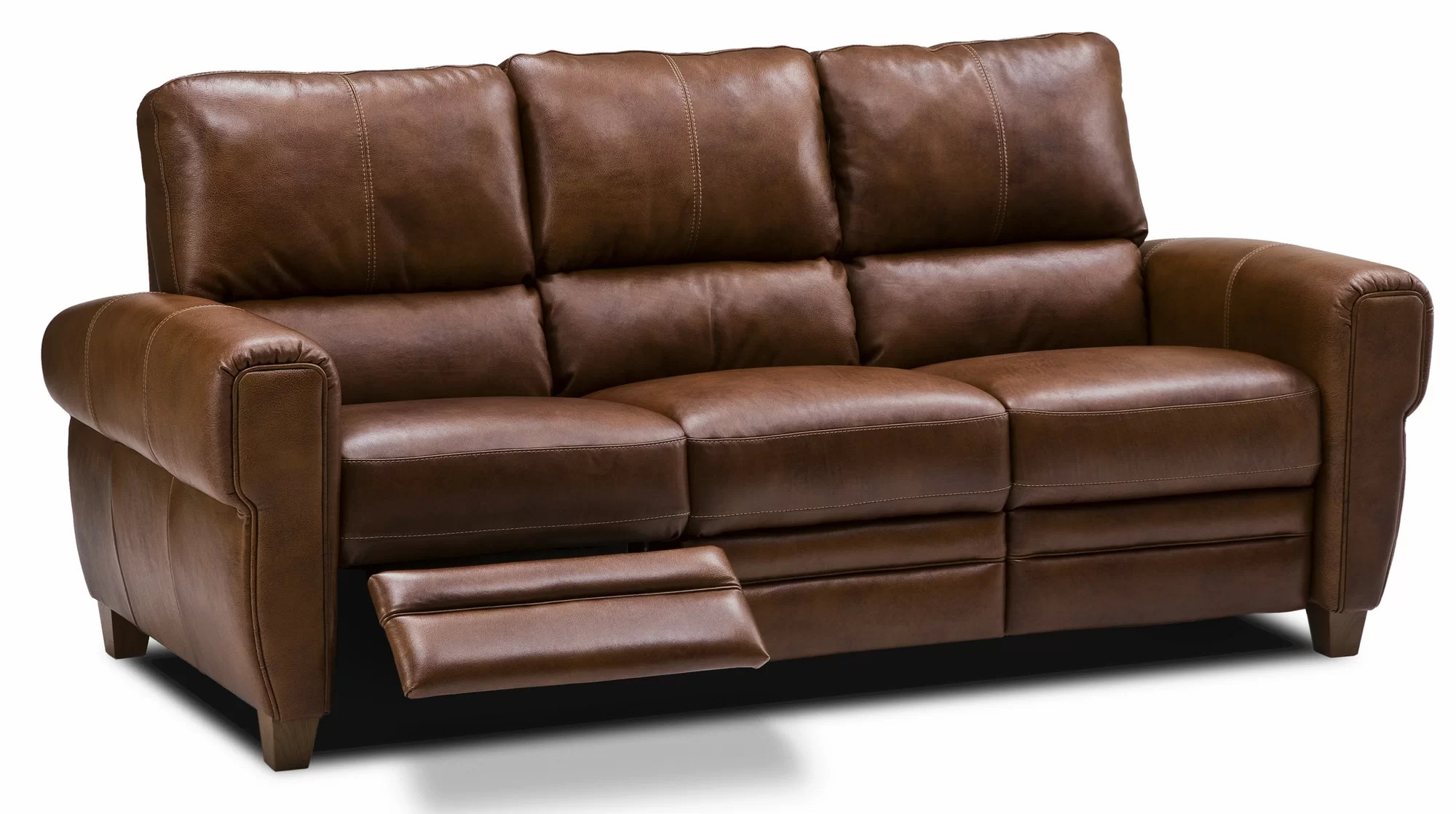 reclining leather sofas dane decor recliner couches living room ideas