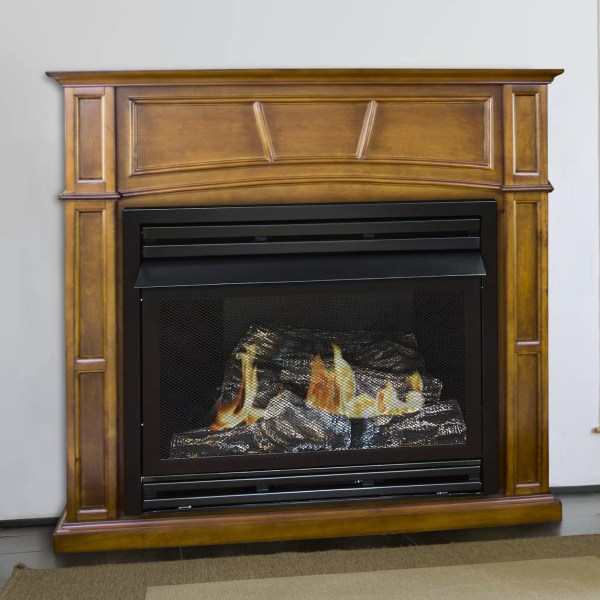 Pleasant Hearth Vent Free Gas Fireplace