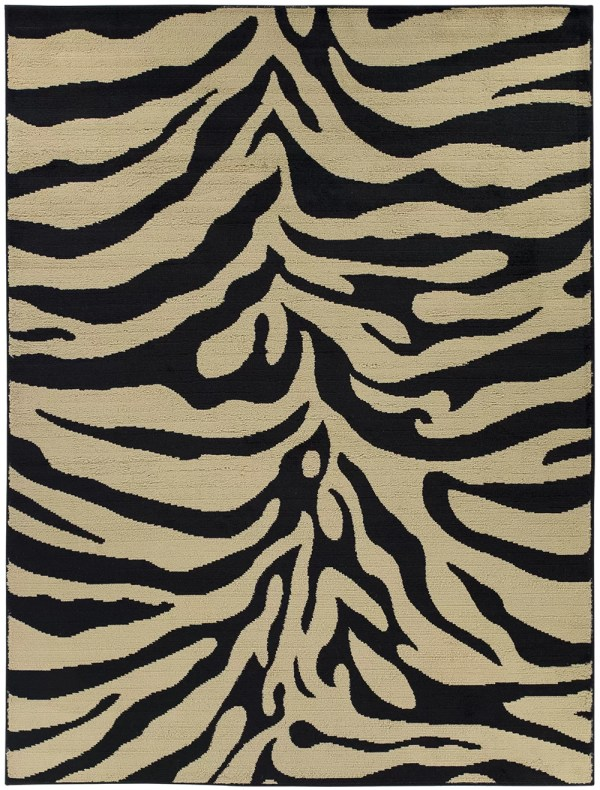 Zebra Animal Print Area Rugs