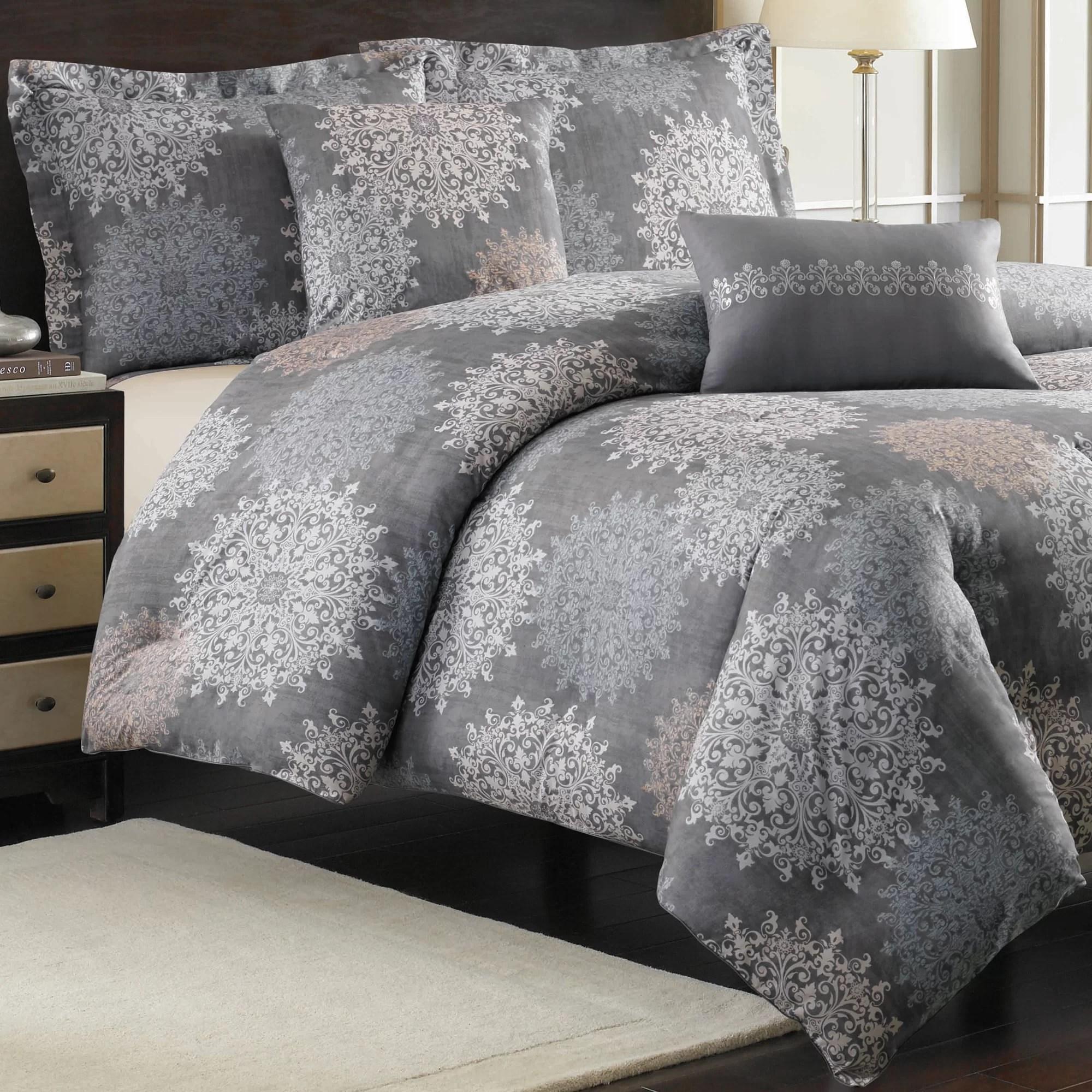 Nicole Miller Home Cortina Comforter Set  eBay