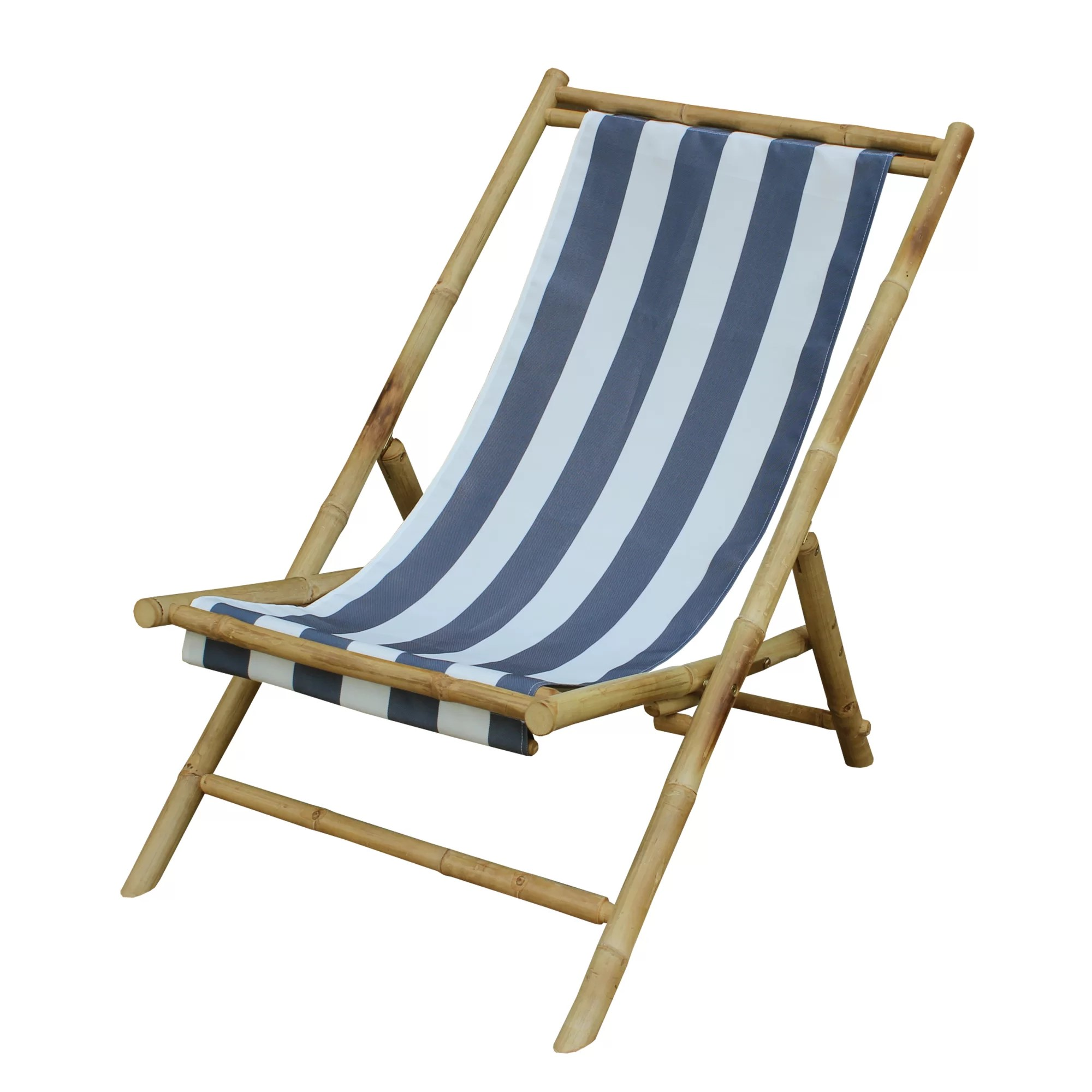 Folding Wood Beach Chair Zew Inc Sling Beach Chair