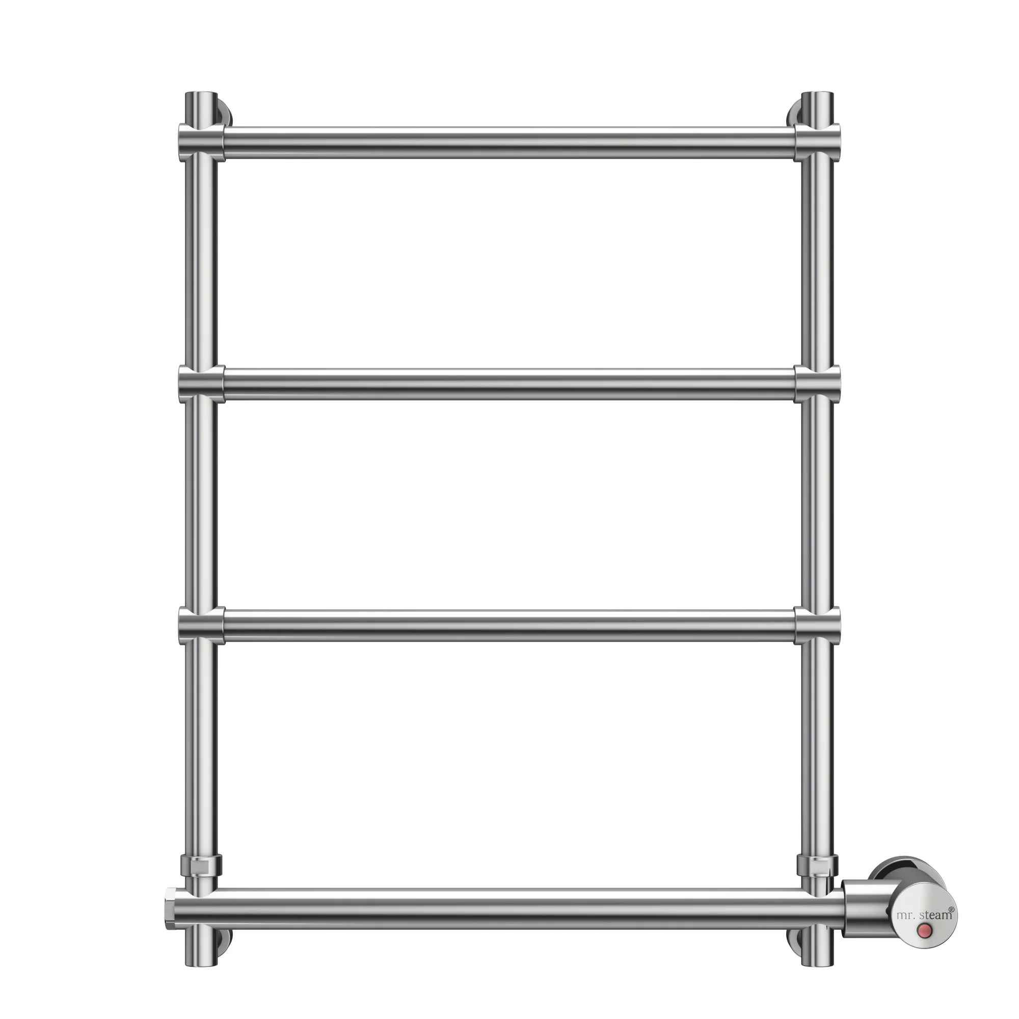 Mr. Steam Wall Mount Towel Warmer in Polished Chrome