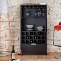 Hokku Designs Merino 18 Bottle Wall Mounted Wine Cabinet ...