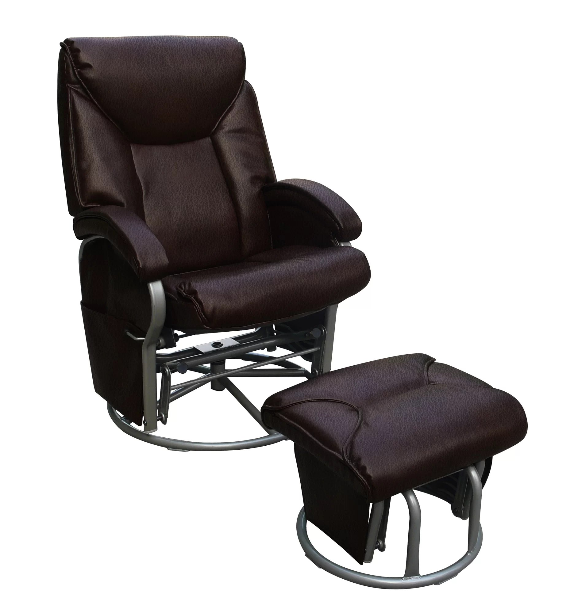 Push Back Chair Shermag Push Back Recliner And Ottoman
