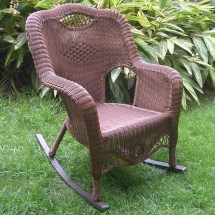 Large Outdoor Wicker Rocking Chairs