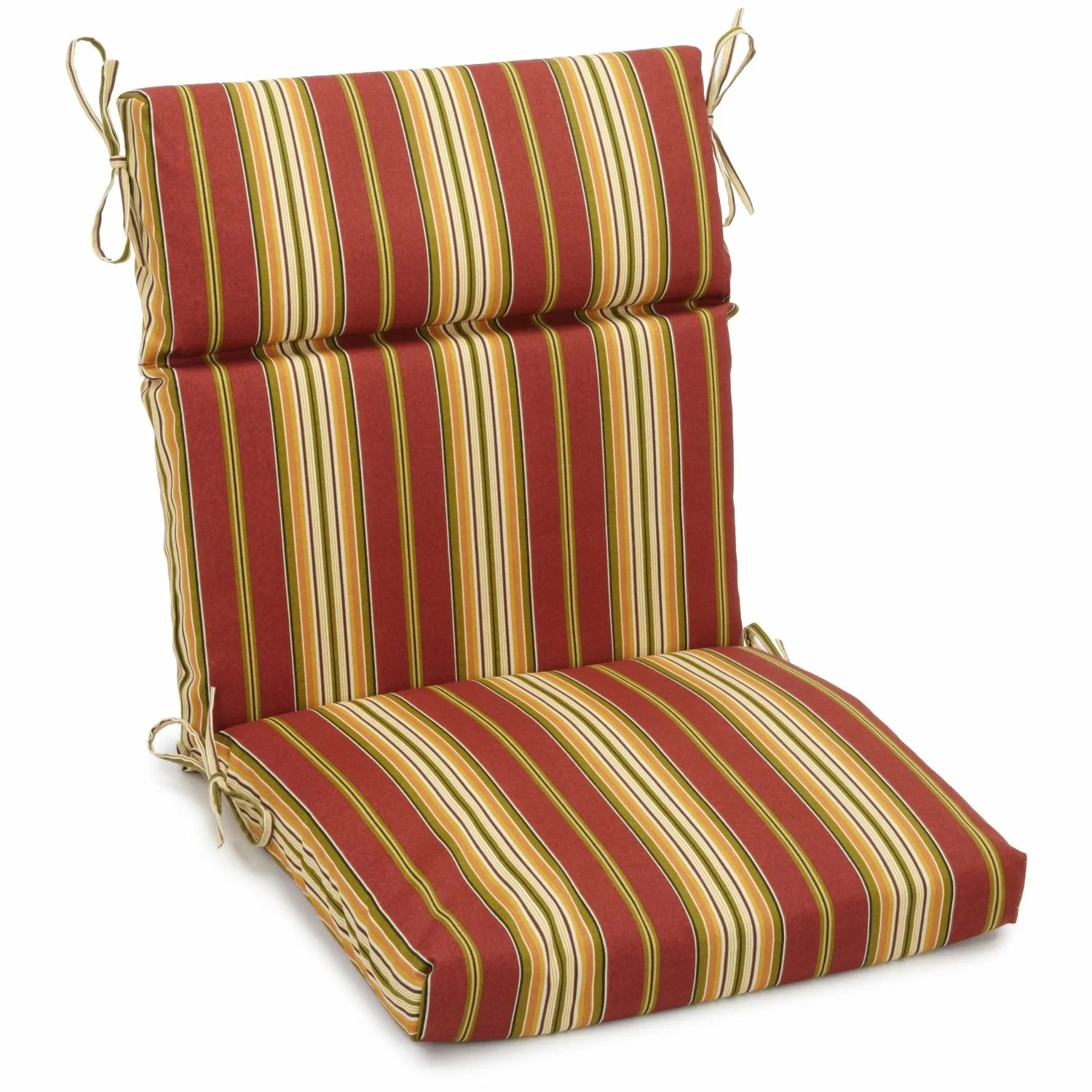 adirondack chairs cushions back pillow for chair blazing needles outdoor cushion ebay