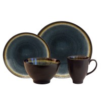 Baum Galaxy Coupe 16 Piece Dinnerware Set