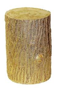 Hickory Manor House Tree Stump End Table | eBay