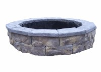 Natural Concrete Products Co Fossill Stone Fire Pit Kit | eBay