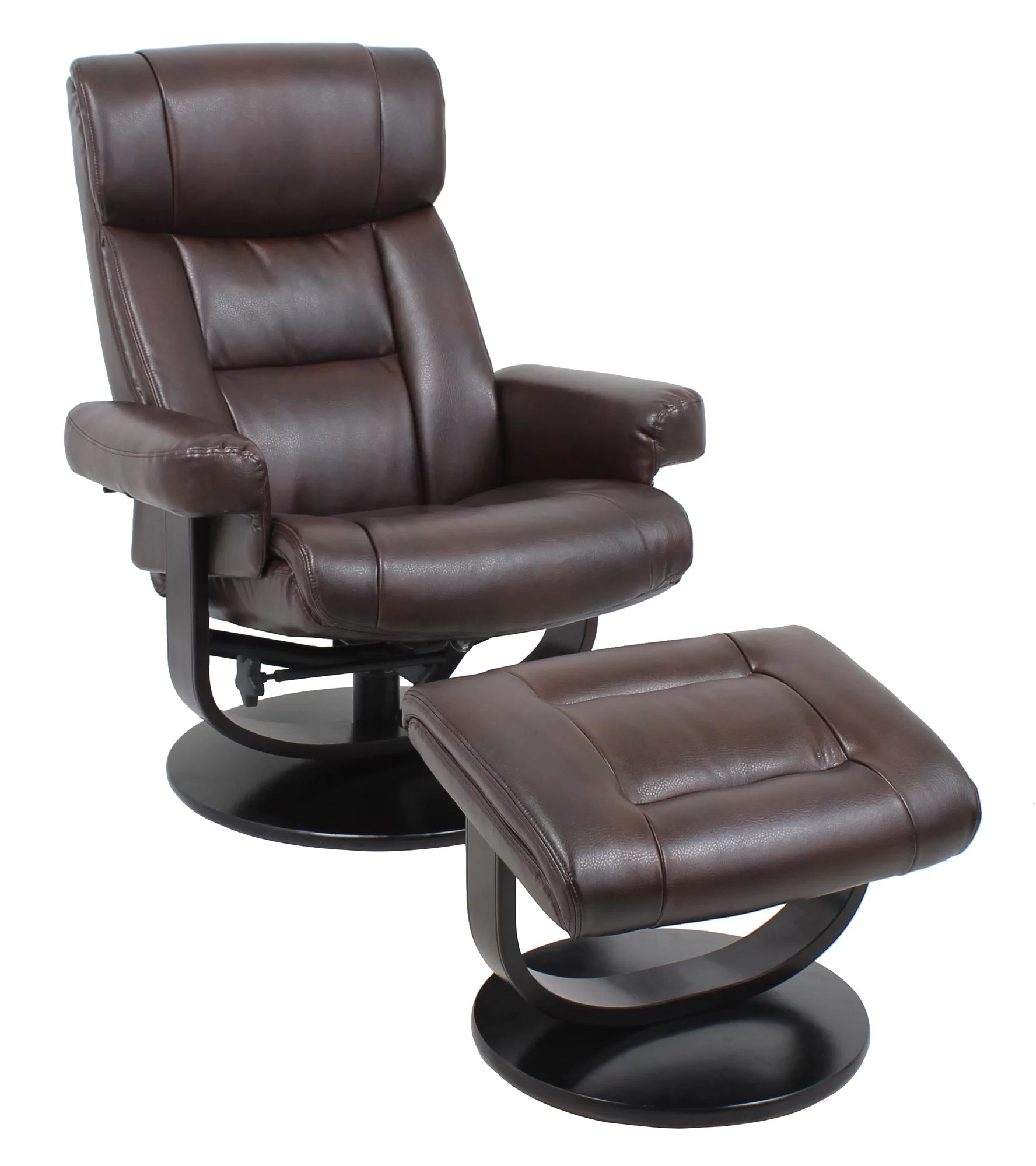 reclining chair with ottoman leather 1950 kitchen table and chairs what is the best recliner