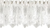 """Old World Style Floral Heavy Lace Kitchen 58"""" Curtain ..."""