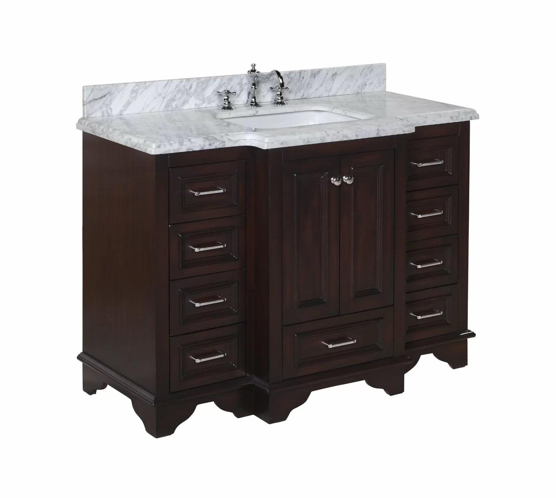 Kitchen Bath Collection Nantucket 48 Single Bathroom