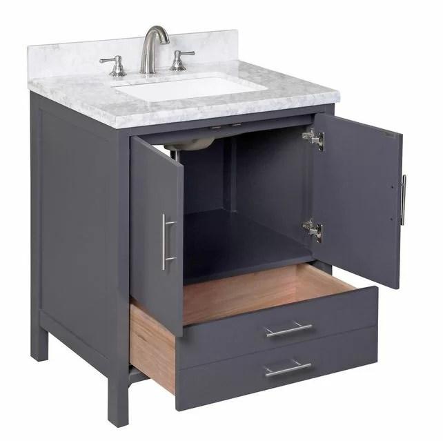 Kitchen Bath Collection California 30 Single Bathroom