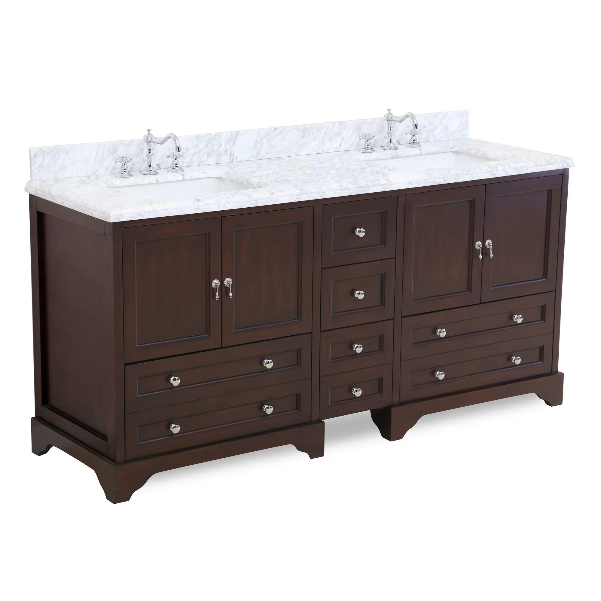 Kitchen Bath Collection Madison 72 Double Bathroom Vanity