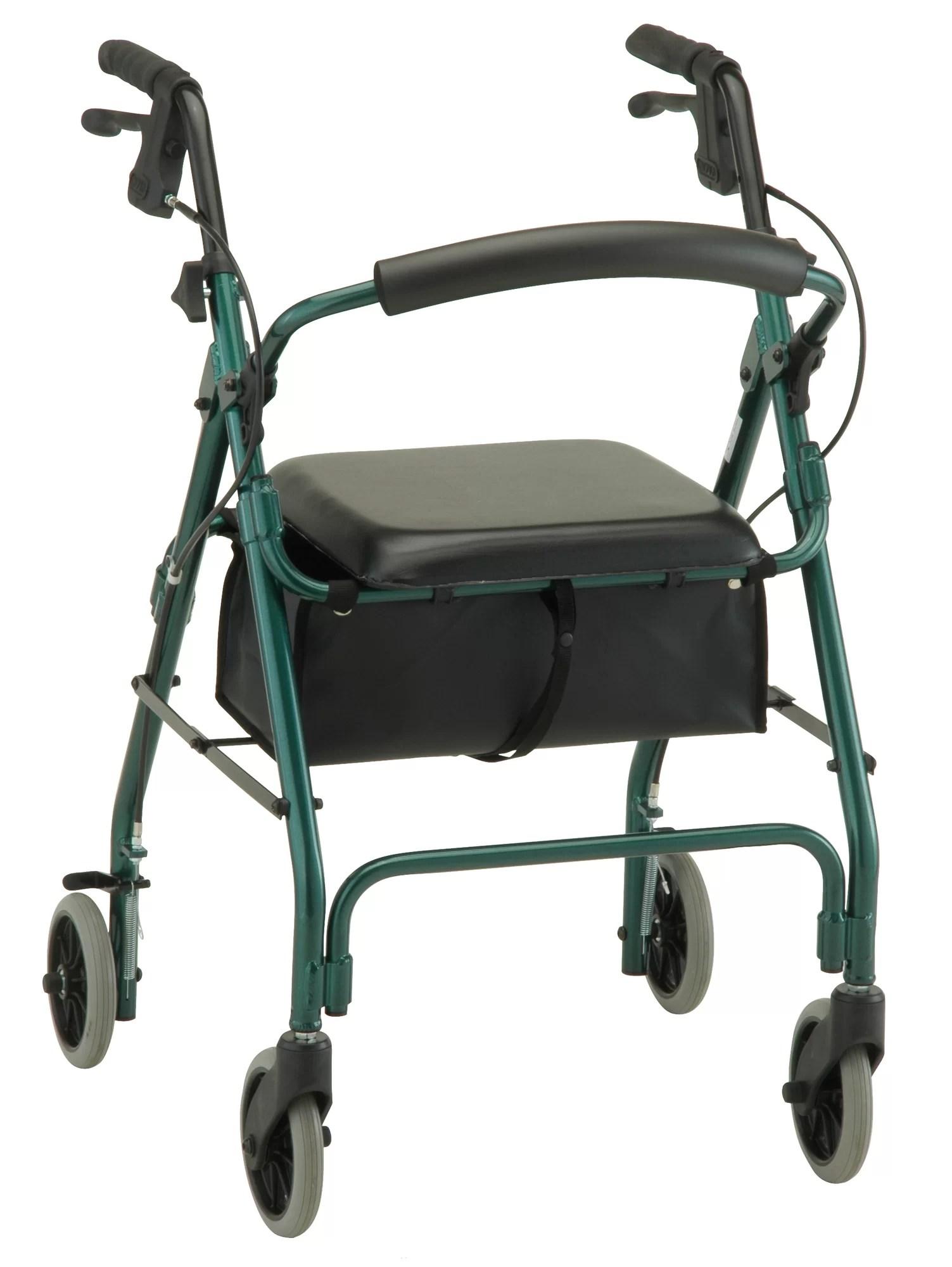 walker roller chair ergonomic armrest nova ortho med inc cruiser deluxe classic rolling