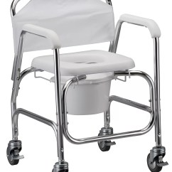 Rolling Desk Chair With Locking Wheels Chairs For Library Nova Medical Bathroom Deluxe Shower And Commode