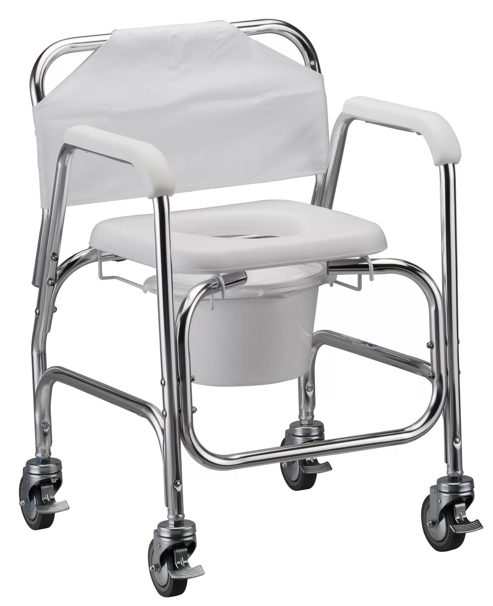 Shower Chair With Wheels Nova Medical Bathroom Deluxe Shower Chair And Commode With
