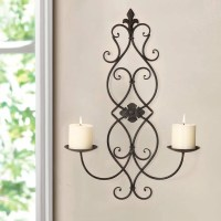 Adeco Trading Iron Wall Sconce Candle Holder | eBay
