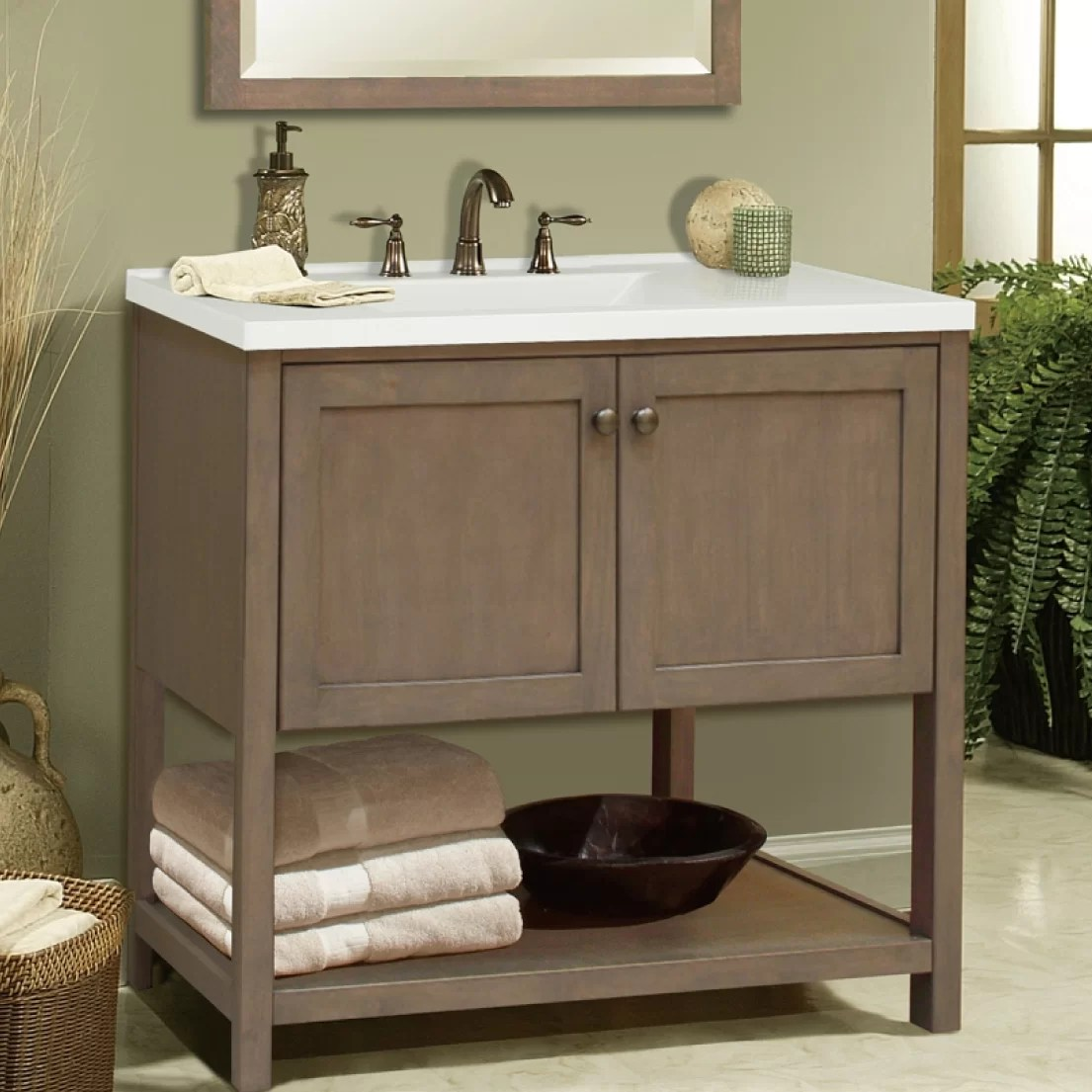 Sunnywood Aiden Bath 30 Bathroom Vanity Base  eBay