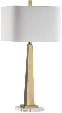 "Mariana Home Modern 32"" Table Lamp with Rectangular Shade ..."