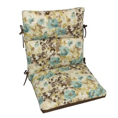 Blue Lounge Chair Cushions Bedroom In Comfort Classics Inc Outdoor Cushion Ebay