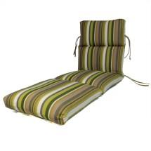 Comfort Classics . Channeled Outdoor Sunbrella Chaise