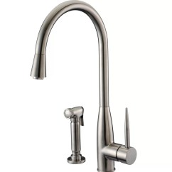 Kitchen Faucets Made In Usa Barn Doors Dawn Single Handle Deck Mount Faucet With Side
