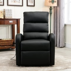 Infinite Position Recliner Power Lift Chair Replacement Foam For Dining Room Chairs Classic Plush Bonded Leather Large