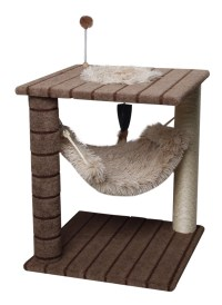 One Source International Carpet Cat Tree with Small ...