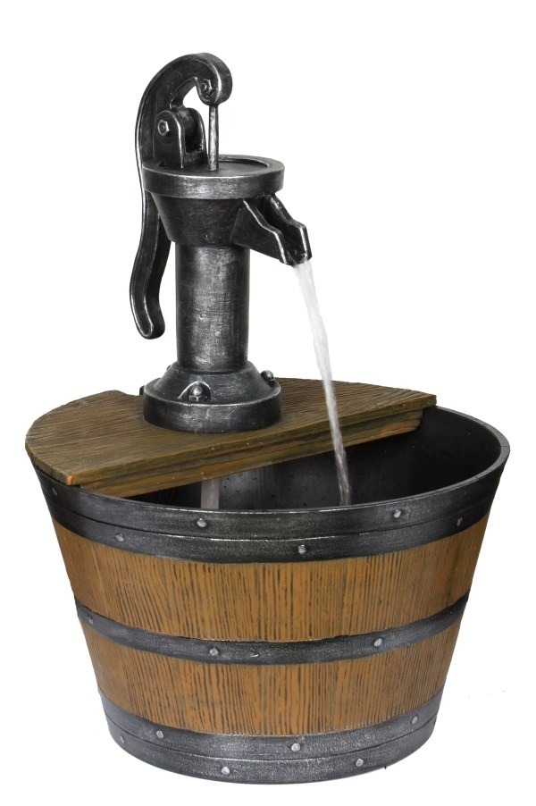 Barrel Water Fountain Pump