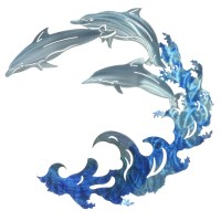 Next Innovations 3D Large Dolphin Wall Dcor   eBay