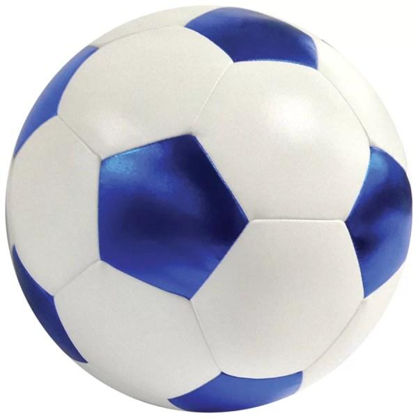 Iscream Soccer Ball 3d Microbead Throw Pillow