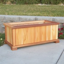 Wood Country Cedar Planter Box