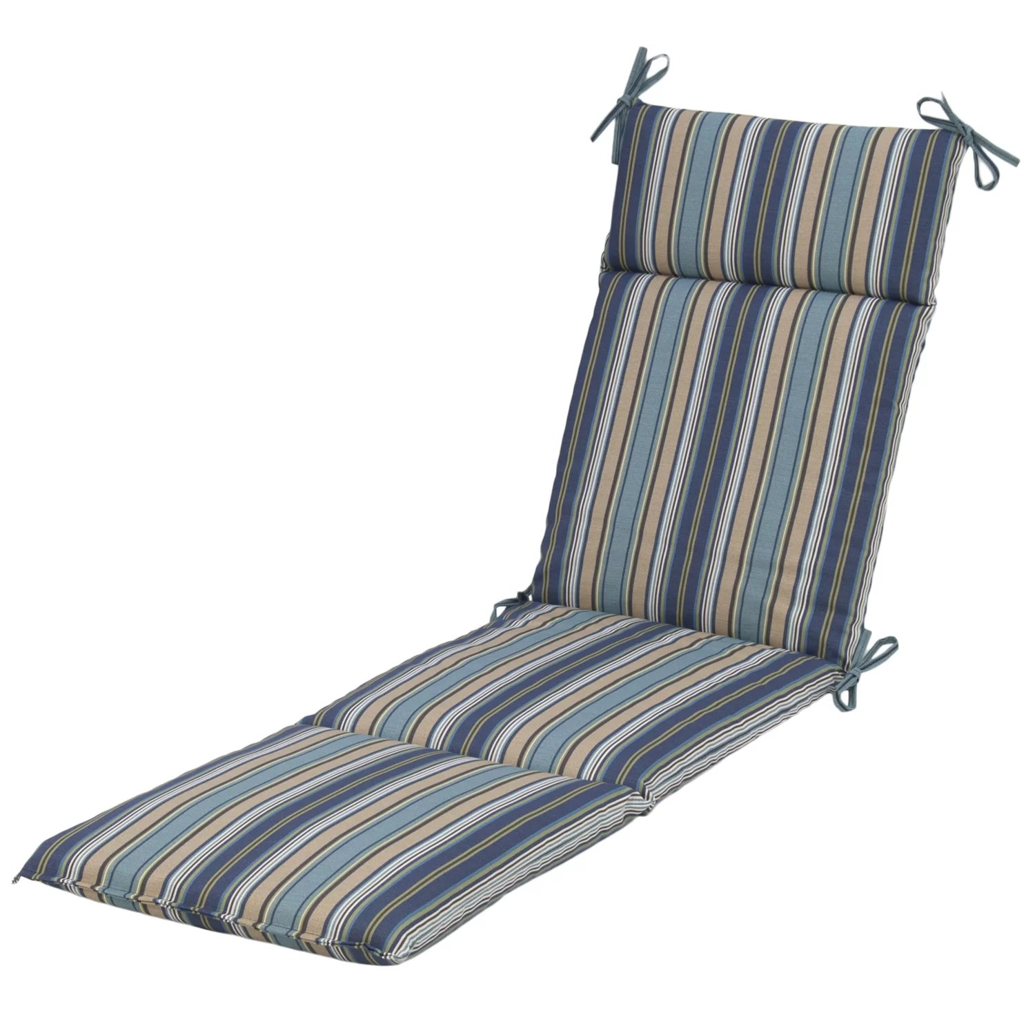 blue lounge chair cushions ikea recliner chairs plantation patterns quebec stripe pacific outdoor chaise