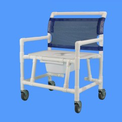 Shower Chair Commode Portable Tripod Folding Chairs Care Products Inc Bariatric