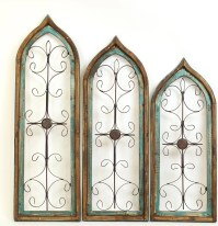 My Amigos Imports Gothic 3 Piece Architectural Window Wall ...