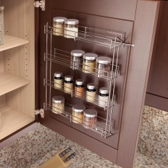Kitchen Cabinets Ebay Backsplash Design Ideas Vauth Sagel Spice Rack Vtsg1150