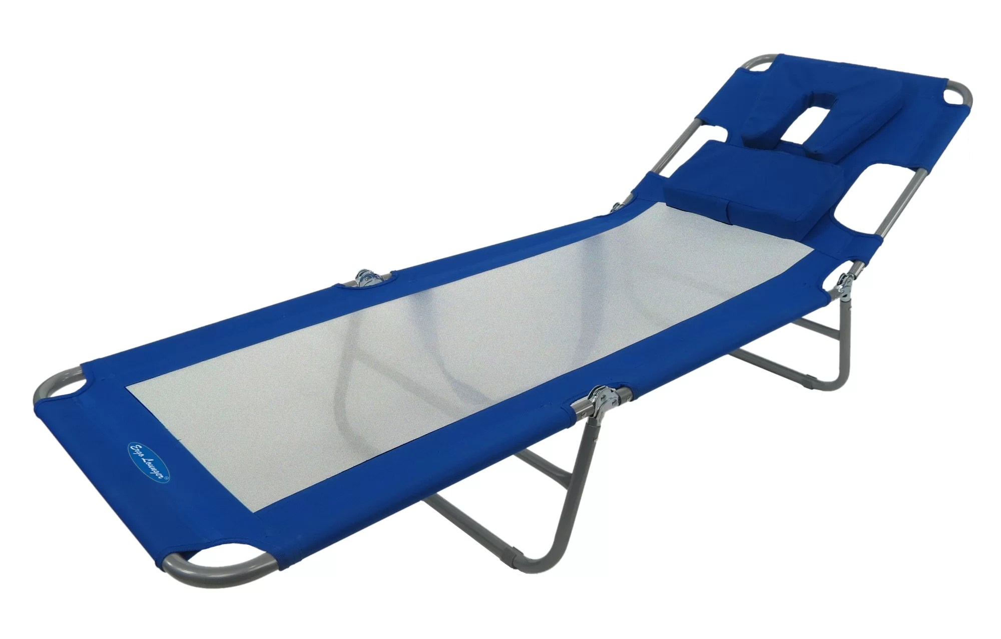 Beach Lounger Chair Ergolounger Cool Face Down Beach Chair Ebay