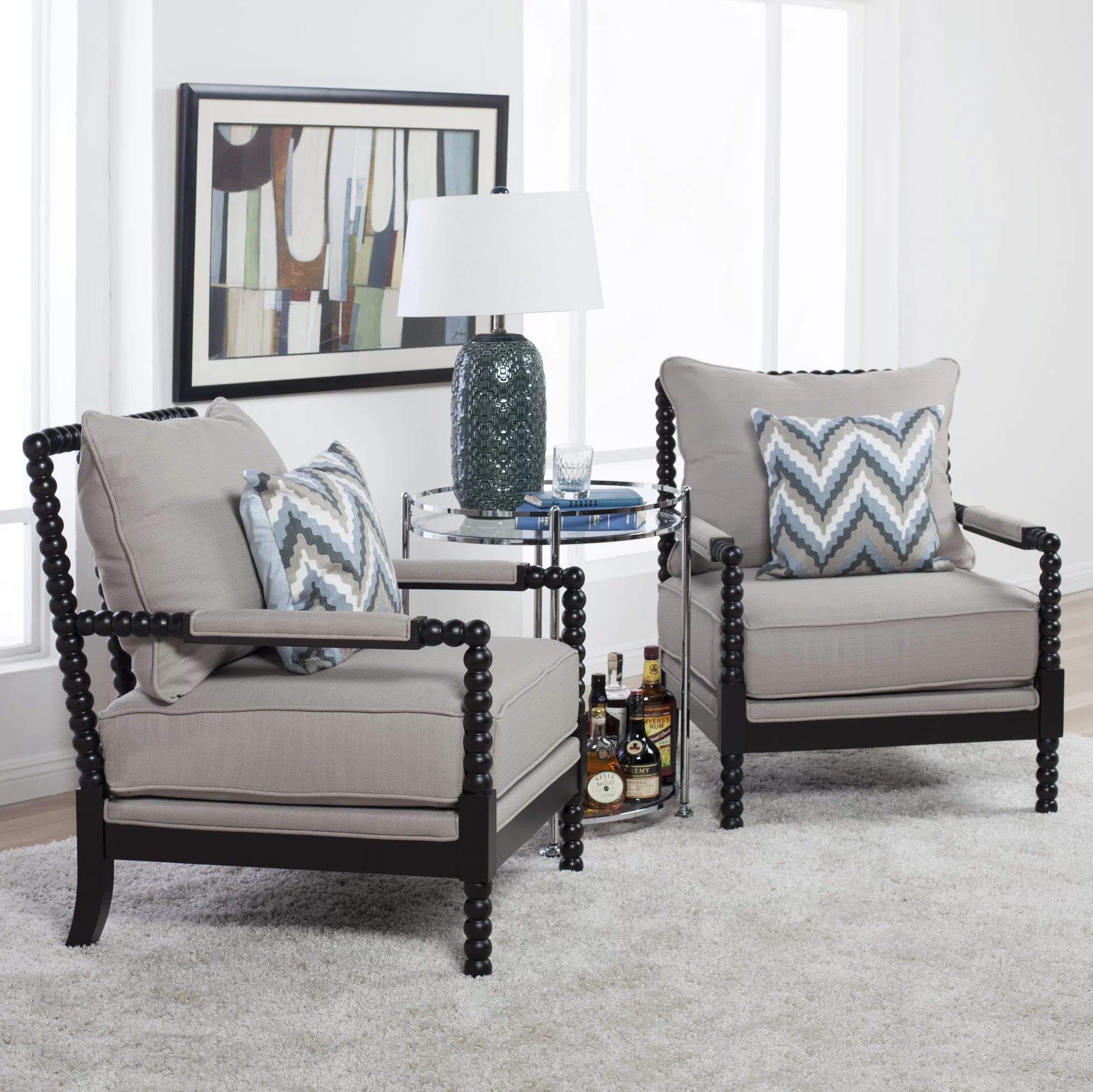 Spindle Arm Chair Studio Designs Home Colonnade Spindle Arm Chair Ebay